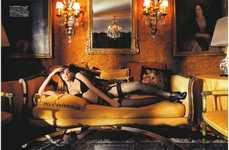 Opulent Lingerie Photoshoots