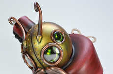 Steampunk Typing Critters