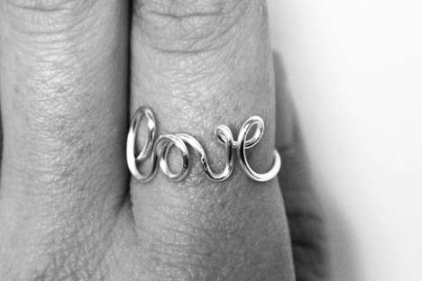 Wired Love Ring
