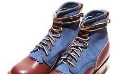 Denim Baroque Footwear