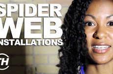 Spider Web Installations