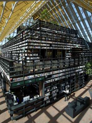 Spijkenisse Book Mountain