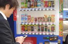 32 Interactive Vending Machines