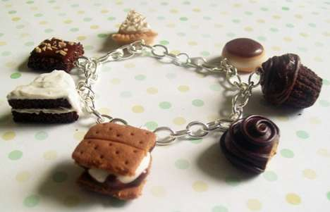 Chocolate Themed Charm Bracelet
