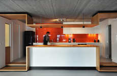 Modern Bamboo-Encased Lofts
