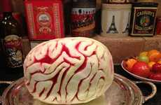 Giant Cerebral Fruit Desserts