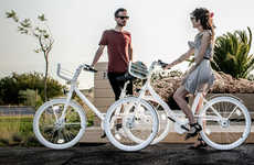 Minimalist Sharing Bicycles