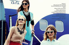 Retro Airport Editorials