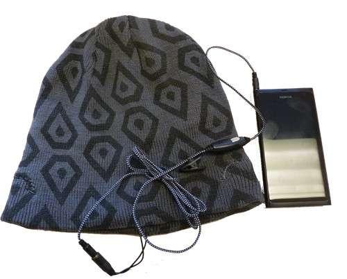 Winter Hat With Built In Headphones