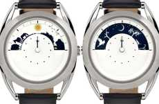 Elegant Sky-Inspired Timepieces