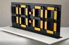DIY Building Block Clocks