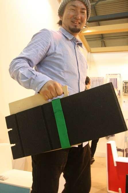 Mizo Folding 'Briefcase' Chair