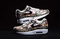 Army Animal Print Sneakers