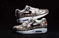 Wild Animal Skin Sneakers