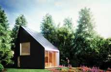 Acutely Pitched Eco Abodes