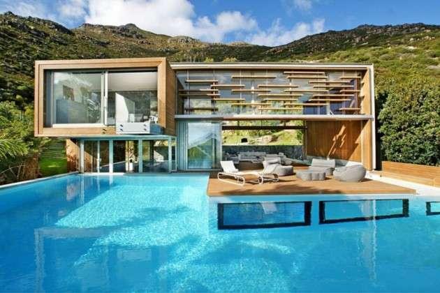 Mountainous Pool Resorts