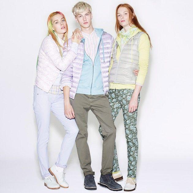 Faded Preppy Summer Fashions