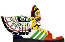 Totem Poll-Inspired Sneakers