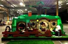 Life-Sized Hobbit Home Replicas