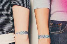 Friendship Bracelet Tattoos
