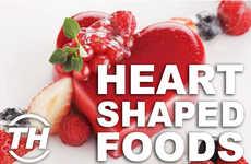 Heart-Shaped Foods