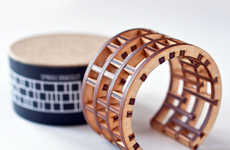 Architectural Plywood Jewelry