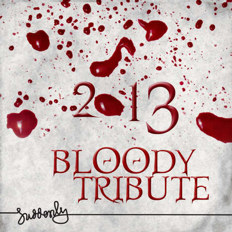 2013 Bloody Tribute Calendar
