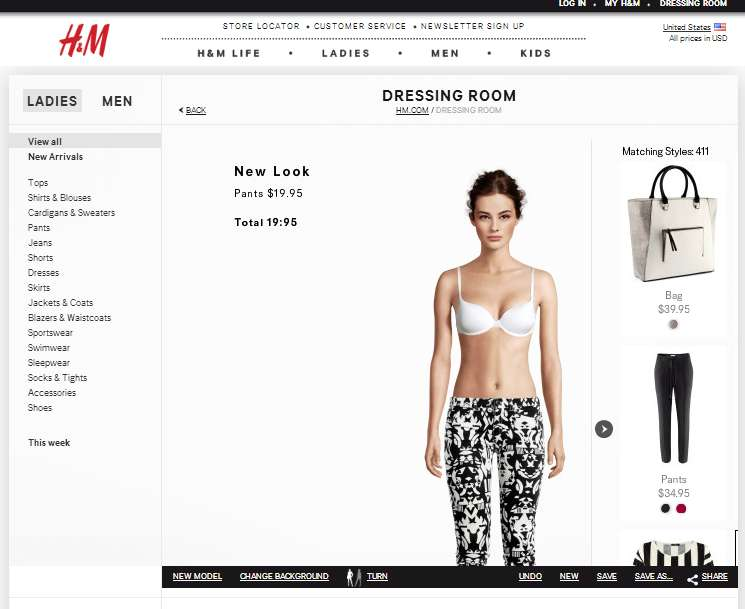 H&m and Ecommerce Sites Replacing Real People with Virtual Models