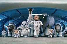 Infant Astronaut Auto Ads