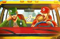 Iconic Video Game Mash-Ups