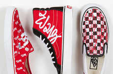 Lovable Graffiti Sneakers