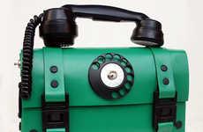 Steampunk Telephone Handbags