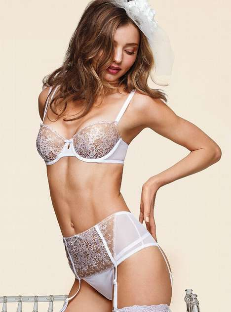 Victoria's Secret Bridal Lingerie 2013