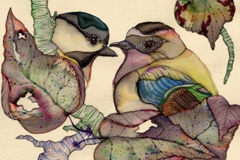 Love Bird Painting