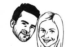 Personalized Nuptial Portrait Stamps