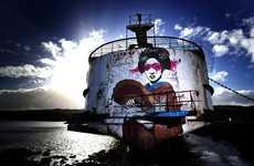 Refurbished Graffiti Landmarks
