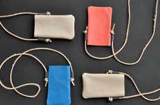 Leather Smartphone Lanyards