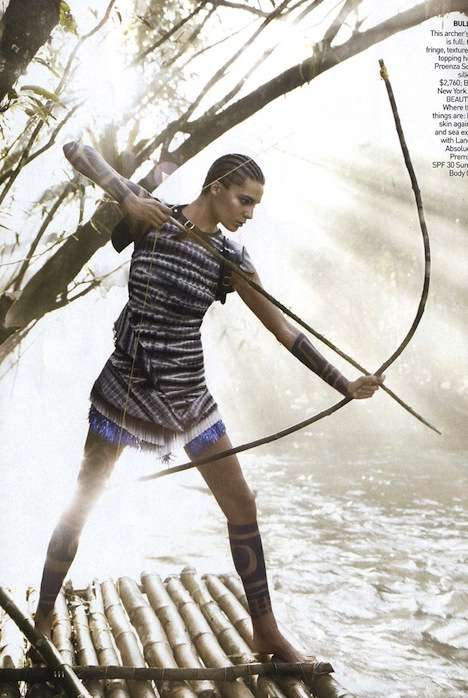 Warrior-Inspired Fashions