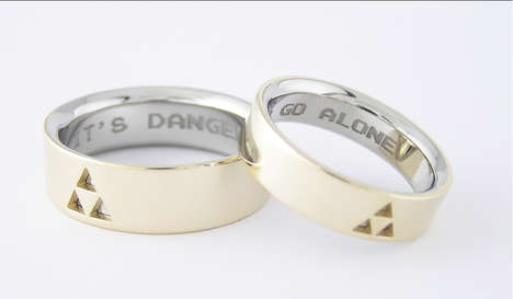 jewelery video games rings