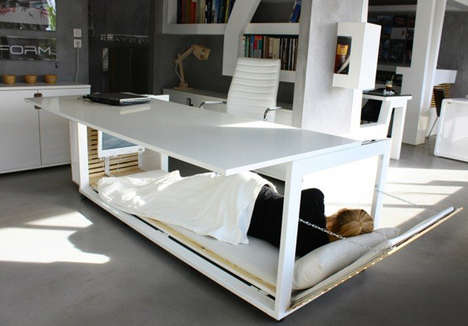 Convertible Desk Bed