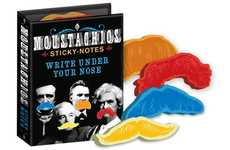 Mustache Shaped Note Pads