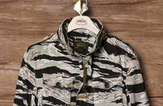 Tiger Camouflage Coats