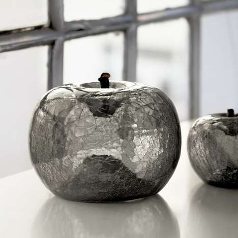 Glossy Fruit-Shaped Sculptures