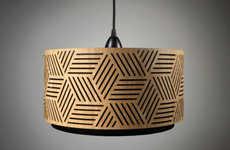 Handmade Lasercut Lampshades