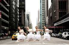 Globe-Trotting Ballerina Photos