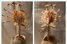 Bizarre Alien Carcass Decor