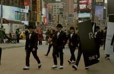 Smartphone Flash Mob Ads