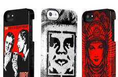 Stenciled iPhone 5 Covers
