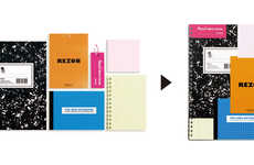 Collaged Stationary Books