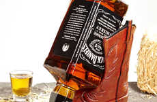 Cowboy Boot Beverage Holders